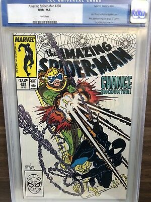 The Amazing Spider-Man 298 CGC 9.6 White Pages NM+ First Eddie Brock