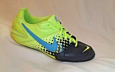 82aad8957 Nike 5 Elastico Indoor Mens Soccer Shoes Size 8 Nike5 Hot Lime Yellow  415131-345