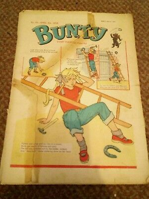 Bunty Comic 4 Apr 1959 No 64 The Four Marys