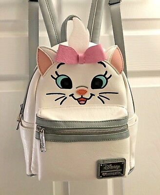 NWOT Disney X Loungefly The Aristocats Marie Character Mini Backpack