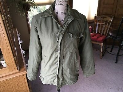 Korea/Vietnam US Army US Navy Cold Weather Jacket Unknown Size