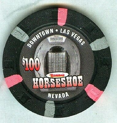 HORSESHOE CASINO (LAS VEGAS) $100 CHIP (SU) (E8082) (TCR 18 RATED N-RESERVE).xls