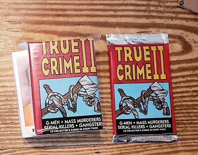 Eclipse 1992 True Crime Series II set( #111-220)And 1 unopened pack (all mint)