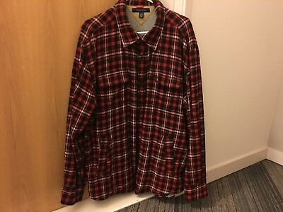 Tommy Hilfiger Mens Insulate Button Up Size xxl