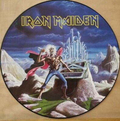 Iron Maiden Picture Disc Maxi-Run to the Hills