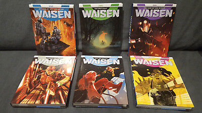 WAISEN von Cross Cult: Deutsche Hardcover-Bände Nr. 1-6 komplett & Top