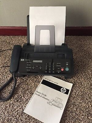 HP 2140 Professional Fax Machine With New Ink Cartridge