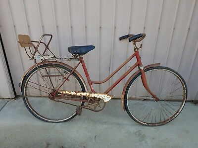 Retro Vintage Old Malvern Star Bike Bicycle Great Shed or Shop Display child car