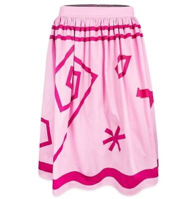 Disney Parks Skirt for Women Alice in Wonderland Pink Tea Cups - NWT