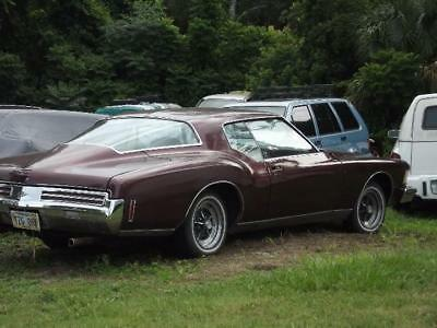 1973 Buick Riviera Coupe 1973 Buick Riviera Boat Tail Hard To Find Bucket Seats PRICED TO SELL MUST SEE !