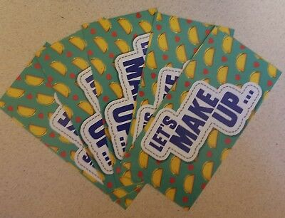 5 Free Taco Coupons To Taco Bell, over a $7.50 value!
