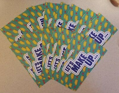 15 Free Taco Coupons To Taco Bell, over a $22.00 value!