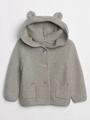 Baby GAP Knit Jumper With Bear Ears