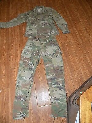 Us Army Ocp Scorpion Insect Repellent Multicam Uniform Small Regular Set