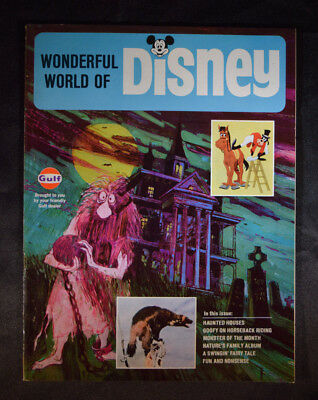 Disneyland Magazine Wonderful World of Disney Haunted Mansion Gulf Walt WDW