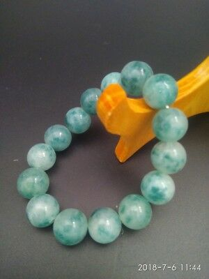China jade bracelets Beads refill Gem Stone Lucky Stretch Elastic Brace RN023