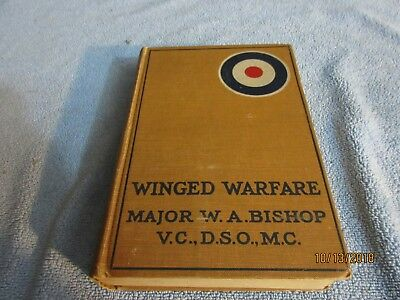 WW1 aviation , Winged Warfare  Major Bishop 1918 Hunting the Huns in the Air