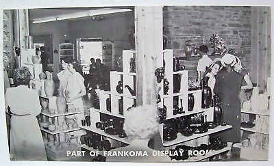 Vintage Frankoma Sapulpa Oklahoma Pottery Factory Postcard Display Room