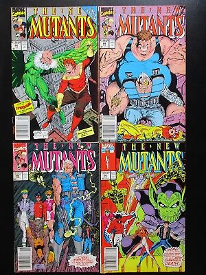 THE NEW MUTANTS 10 BOOK LOT, #s 86-100, 1ST APP CABLE, X-FORCE, X-MEN, NO #98