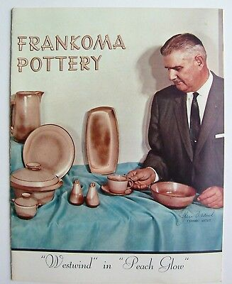 Vintage 1960's Frankoma Sapulpa Oklahoma Pottery Price Guide Photo Catalog