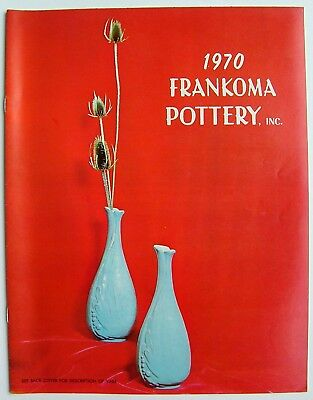 Vintage 1970 Frankoma Sapulpa Oklahoma Pottery Price Guide Photo Catalog