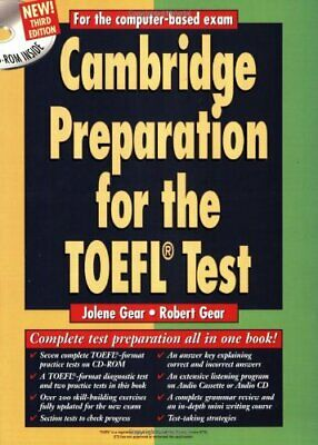 Cambridge Preparation for the TOEFL� Test... by Gear, Robert Mixed media product