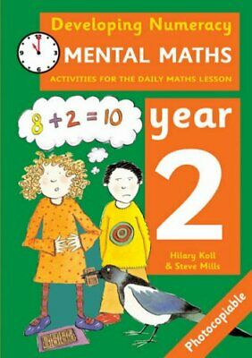 Developing Numeracy: Mental Maths Year 2 by Mills, Steve Paperback Book The