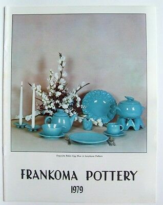 Vintage 1979 Frankoma Sapulpa Oklahoma Pottery Price Guide Photo Catalog
