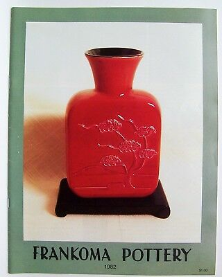 Vintage 1982 Frankoma Sapulpa Oklahoma Pottery Price Guide Photo Catalog