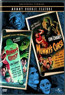 THE MUMMY'S GHOST + THE MUMMY'S CURSE New Sealed DVD Double Feature