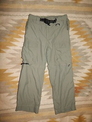 Boy Scouts of America ~Youth L ~ Green Uniform Switchback Convertible Pants
