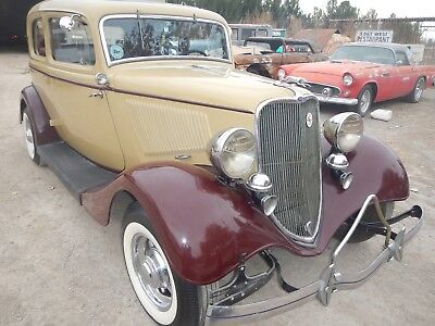 1933 Ford Victoria Deluxe 1933 FORD VICTORIA ORIGINAL REAL HENRY FORD STEEL READY TO HOT ROD