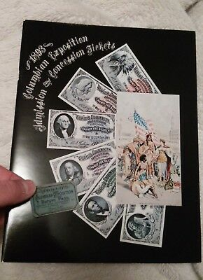 1893 Columbian Exposition Admission and Concession Tickets - Doolin FREE TICKET!