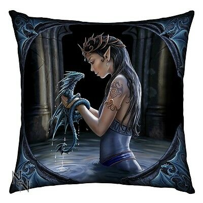 Anne Stokes Water Dragon Cushion Brand New - Fantasy/gothic Giftware