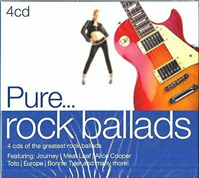 Pure... Rock Ballads -  CD CUVG The Fast Free Shipping
