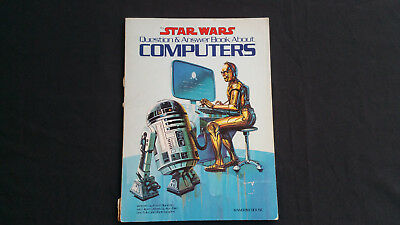Vintage 1983 Star Wars Question & Answer Book – Computers – R2D2 C3PO