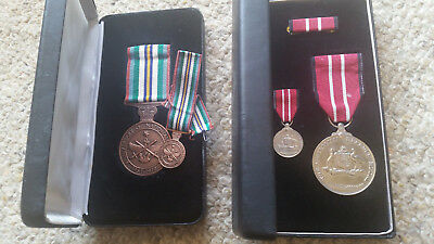Australian Defence Medal and Anniversary of National Service 1951 - 1972