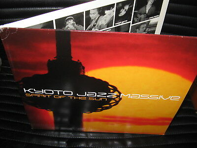 Kyoto Jazz Massive - Spirit Of The Sun LP 2002 Compost