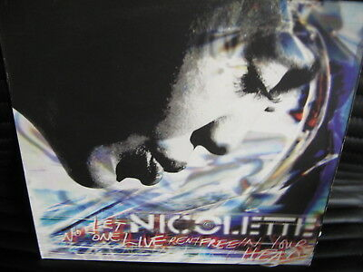 Nicolette- Let No-One Live Rent Free In Your Head VINYL TalkinLoud 96