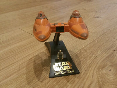 Star Wars - Micro Machines - Twin Pop Cloud Car mit Lobot - Action Fleet - TOP !