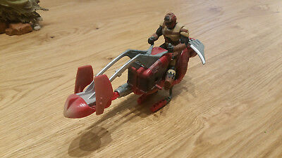 Star Wars POTF Expanded Universe - Swoop Speeder Bike with Scout Pilot Driver