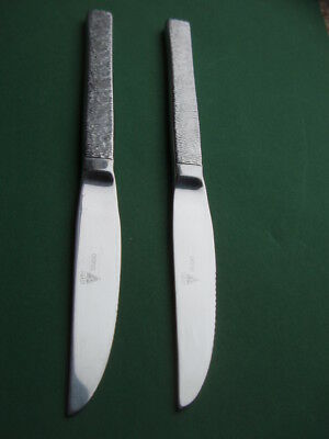 VINERS STUDIO: Two Serrated Edge Steak Knives (22cm) super condition, quite rare
