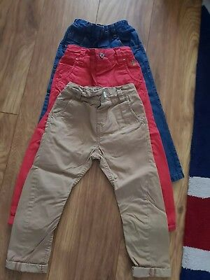 Next Boys Jeans/ Chinos Age 3-4 bundle