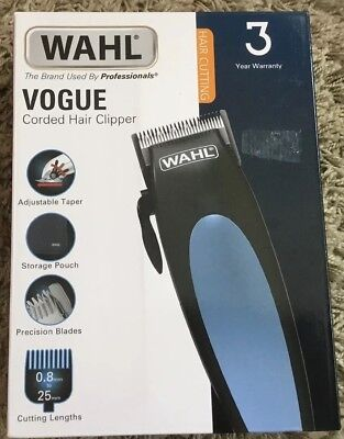 WAHL Vogue Corded Hair Clipper- NEW