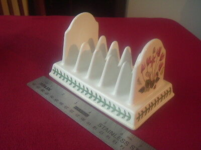 Portmeirion Botanic Garden Five Slice Toast Rack.