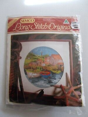 - FISHERMANS COVE By SEMCO - LONG STITCH ORIGINAL [NEW SEALED] NOW $37.75