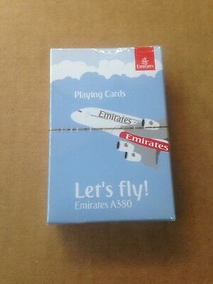 Emirates A380 Playing Cards - airline