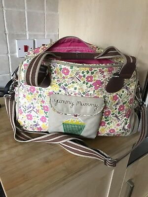 Pink Lining Yummy Mummy changing bag With Changing Mat