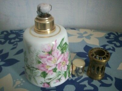 Lampe Berger Porcelaine Tharaud Limoges Ancienne