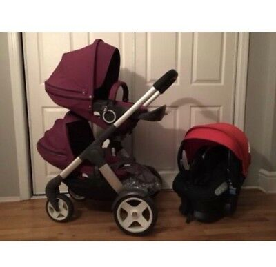 Stokke Crusi Stroller And Carseat